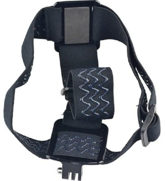 Крепление экшн камеры на голову или шлем