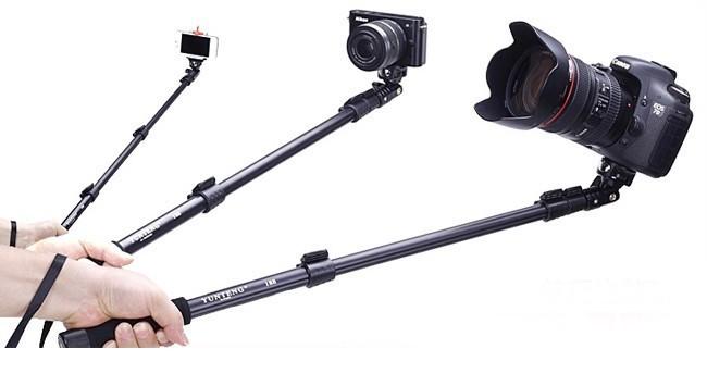 Телескопический монопод Yunteng 188 для экшн камеры, фотоаппарата, телефона